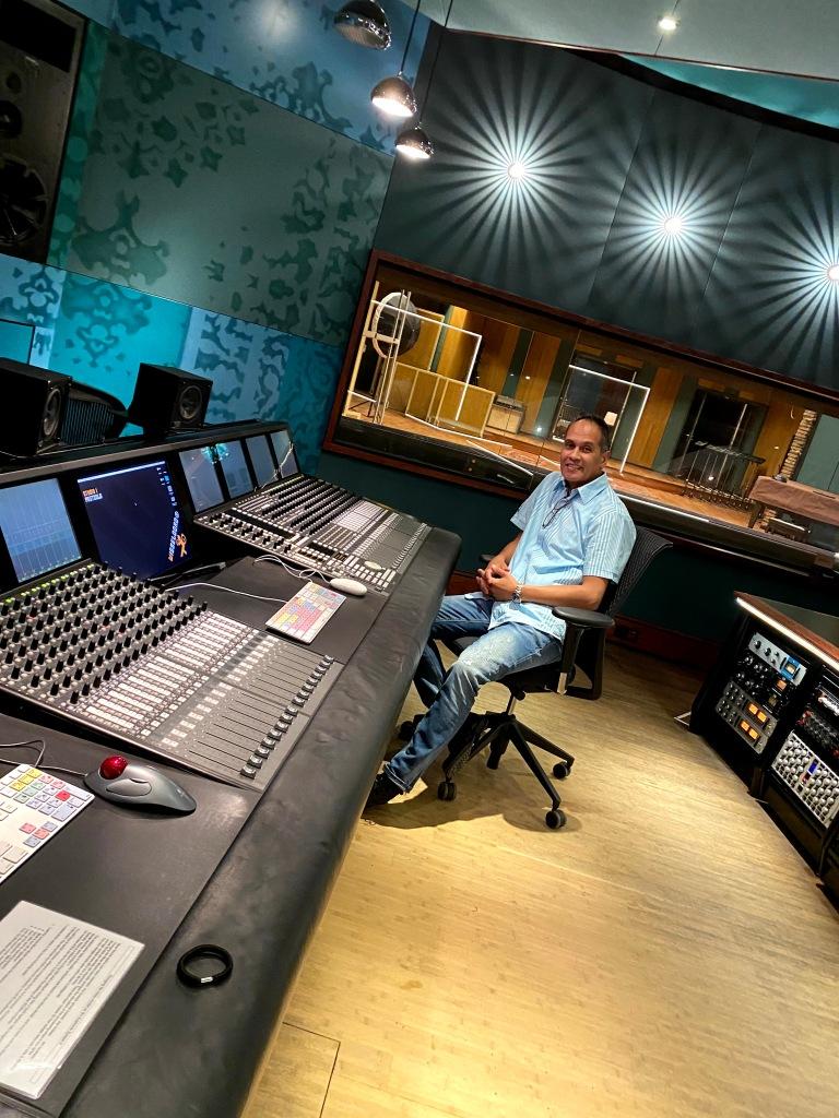 In de legendarische Studio 1 van Wisseloord